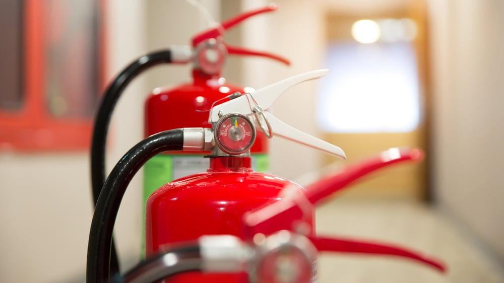 Brannslokkere: Hva bør brukes hvor?